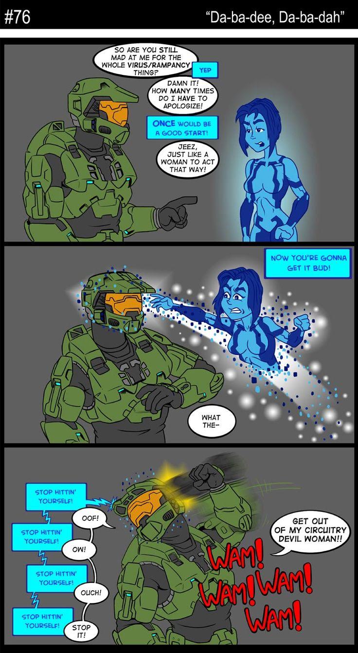 76 - Da-ba-dee, Da-ba-dah | Halo | Pinterest | Halo and Comic