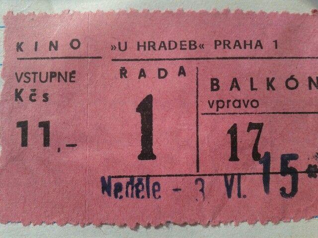 Vstupenka do kina (1984)