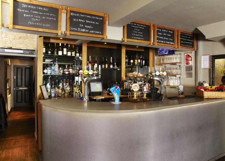 Bar Interior Design Upholstered Front