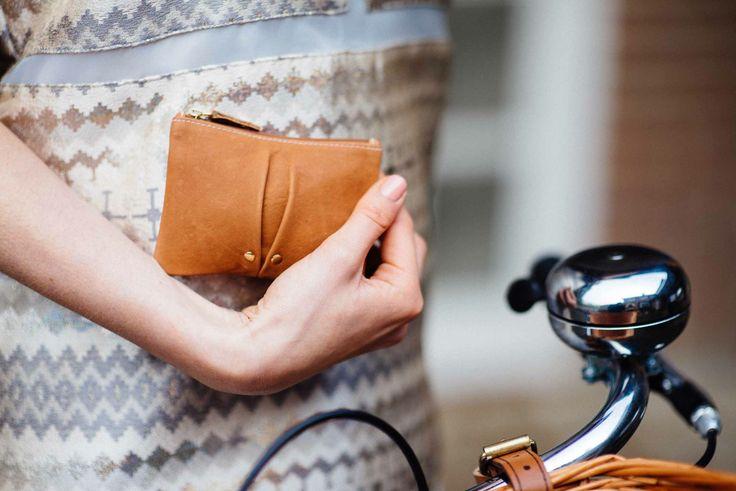 Tan Leather Wallet www.bettyandbetts.com
