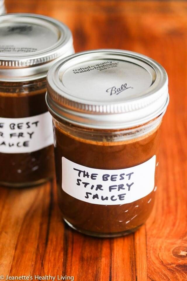 The Best Chinese Stir Fry Sauce - make a batch of this special sauce and you can make stir fries anytime easily