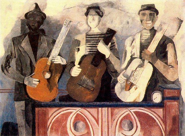 Rufino Tamayo - Los músicos, 1934