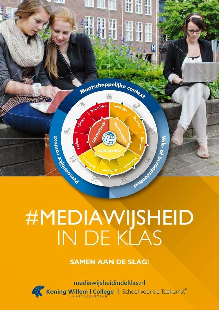 Het Innovatiehuis: Themamiddag Mediawijsheid en Social Learning boek mediWijsheid in de klas- De Koning