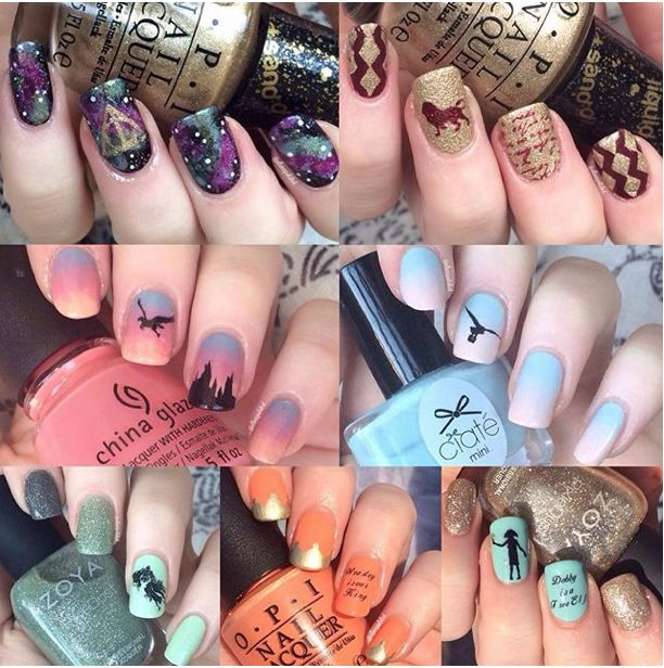 21 Harry Potter Nail Art Designs That Will Leave You Spellbound – Seventeen.com