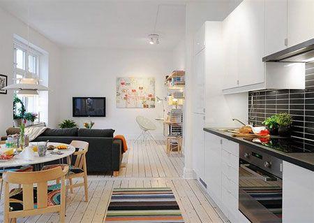 8 mejores im genes de decoraci n en casas y pisos peque os - Cocinas como disenarlas ...