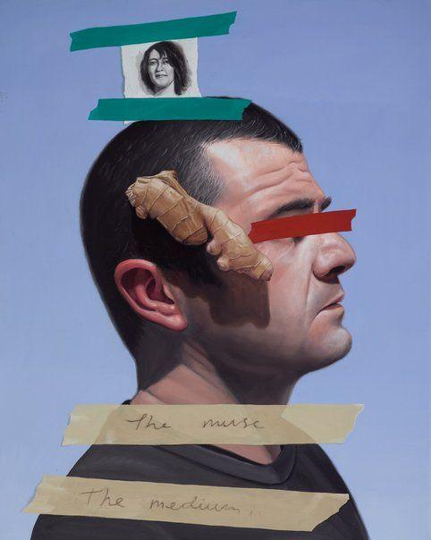 Juan Ford: Regaining sight (a meditation on Rose Soady) :: Archibald Prize 2016 :: Art Gallery NSW