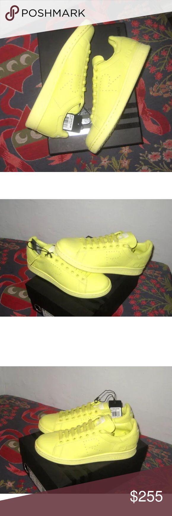 Adidas x Raf Simons Stan Smith Blush Yellow Brand New Size 5.5 Adidas Shoes Sneakers