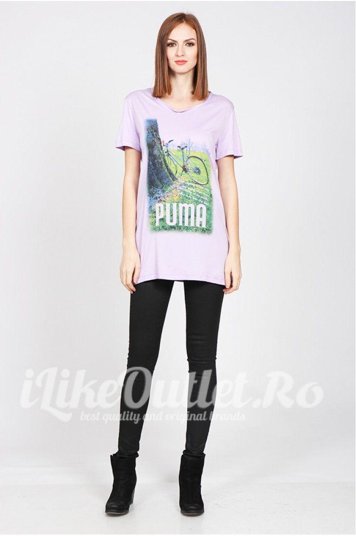 Tricou mov puma style PUMA