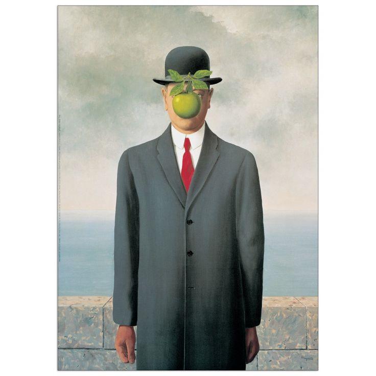 MAGRITTE - Les fils de l'homme 50x70 cm #artprints #interior #design #art #print #Magritte  Scopri Descrizione e Prezzo http://www.artopweb.com/EC16582