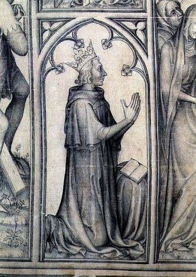 Charles V, détail du parement de Narbonne