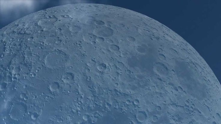 What It Would Look Like If the Moon Orbited the Earth at the Same Distance as the International Space Station