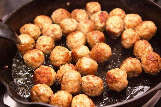 Tejszínes húsgolyók tésztával lépésről lépésre - Blikk.hu