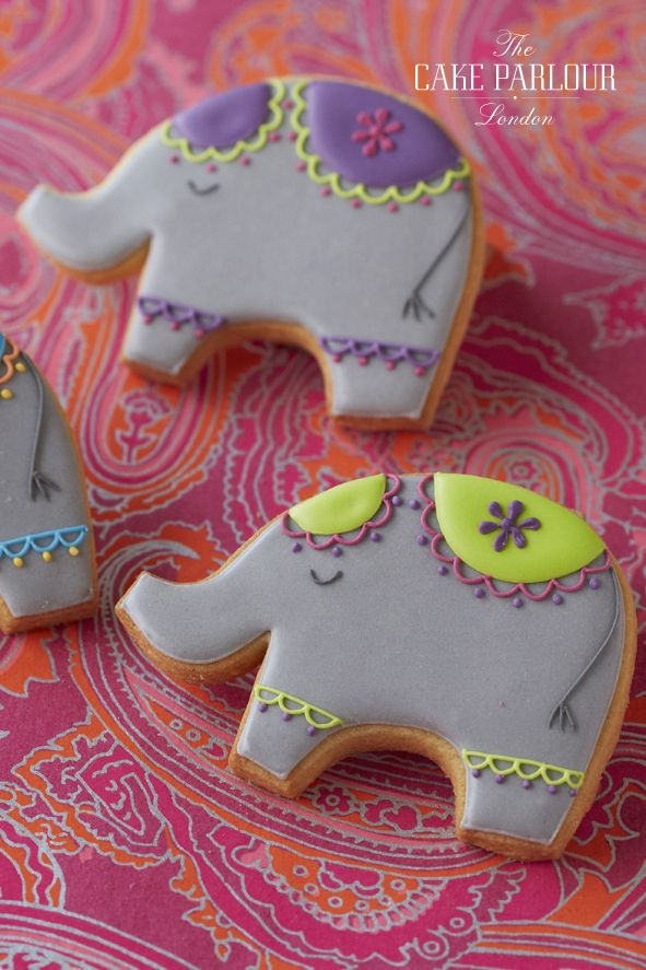 Delightful and delicious cookies baked and hand-decorated by The Cake Parlour. Perfect for any special occasion and great wedding favours.