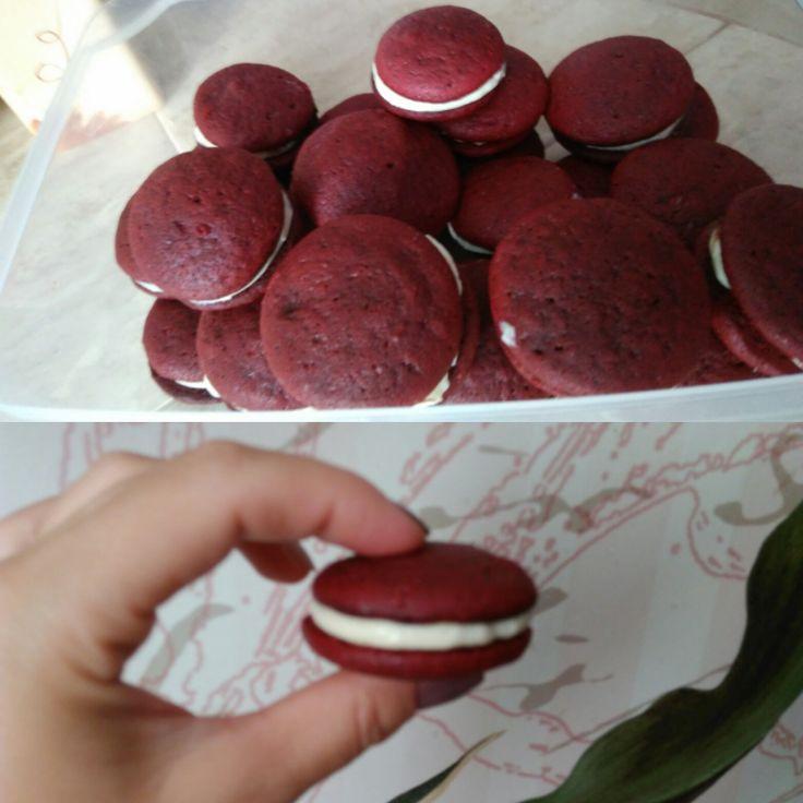 Вупи Красный бархат - прекрасный вариант десерта - Andy Chef - блог о еде и путешествиях, пошаговые рецепты, интернет-магазин для кондитеров