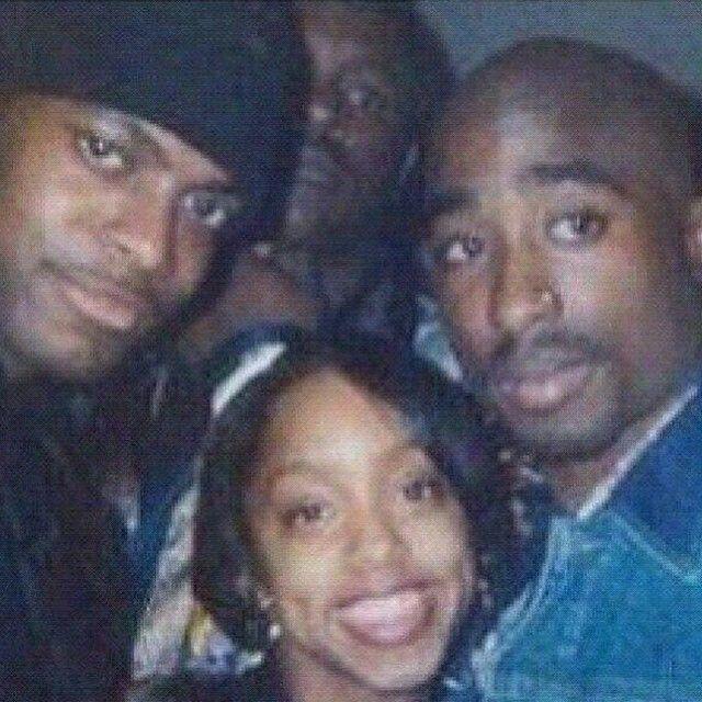 Chris Tucker and Tupac Shakur