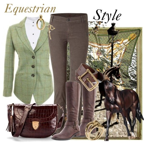 """""""Equestrian Style"""" by emlibertelli on Polyvore"""