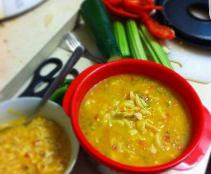 Recipe Chicken noodle soup by pamela_oram - Recipe of category Soups