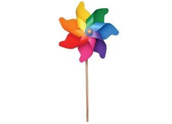 Kleine windmolen met harde plastic wieken.  Nu voor € 1,-