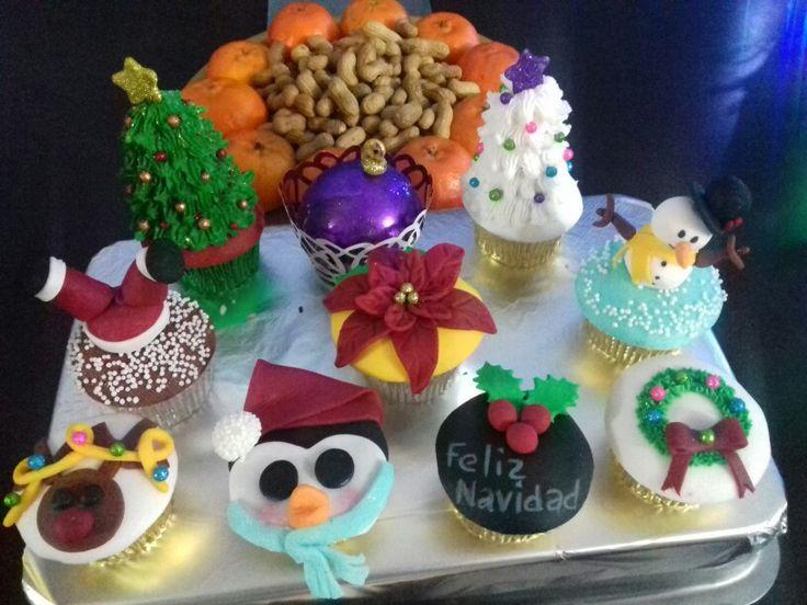 cupcakes navideos