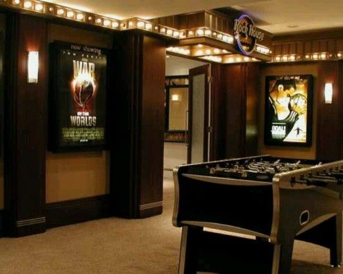 Interior Design, Small Modern Basement Rec Room Game Room Decorating Ideas  On A Budget Stylish