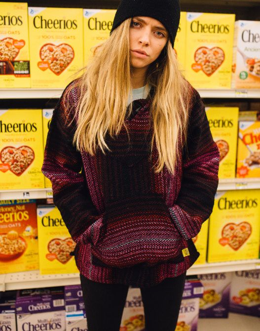 Mexican Threads Baja Hoodie Drug Rug Pullover by OrvinApparel