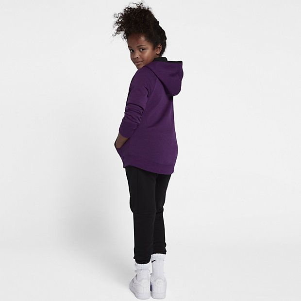 Nike Sportswear Tech Fleece Older Kids' (Girls') Full-Zip Hoodie