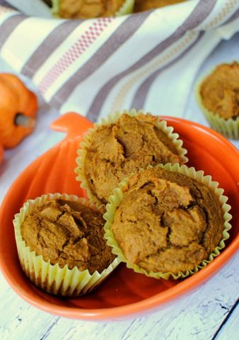 This recipe for Whole Wheat Pumpkin Muffins is made with simple ingredients that come together to make a dozen fluffy and delicious muffins.