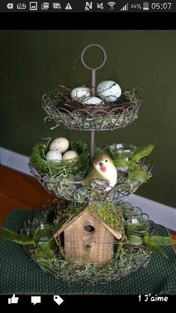 Déco de Pâques... ...