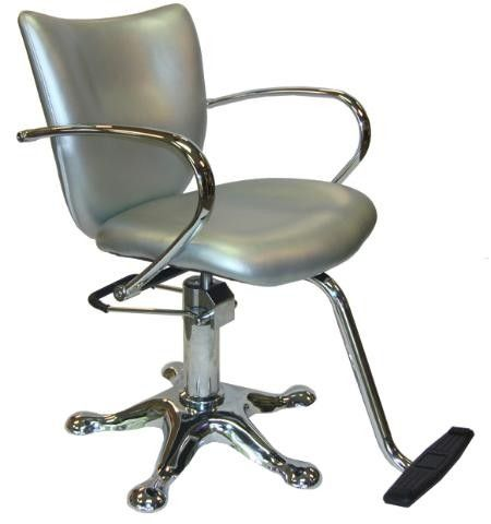 silver shampoo chair | Double click on above image to view full picture