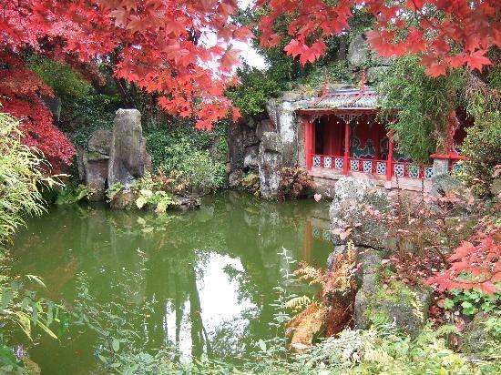 Chinese Garden,Biddulph Grange Gardens.