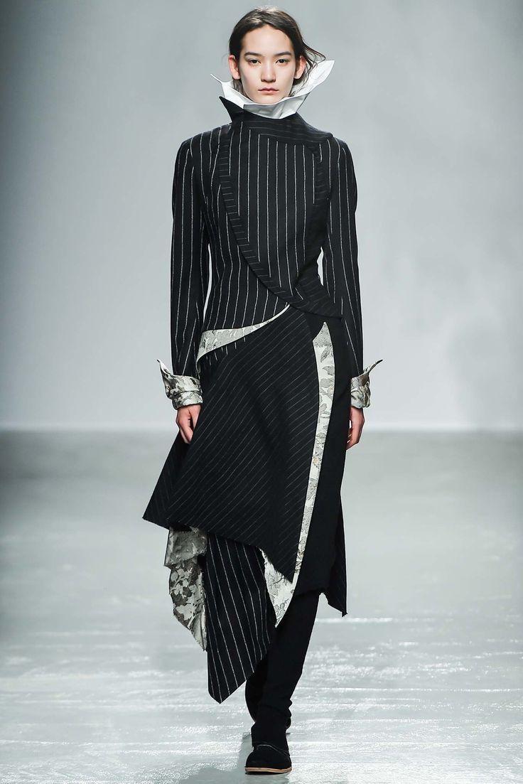 Aganovich Fall 2015 Ready-to-Wear Fashion Show - Mona Matsuoka (IMG)