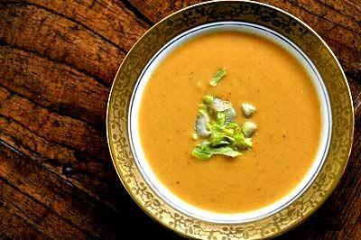Sweet potato soup: Potatoes Soups Recipes, Sweet Potato Soup, Diet Recipes, Potatosoup, Creamy Sweet, Maple Syrup, Diabetes Recipes, Sweet Potatoes Soups, Potato Soup Recipes