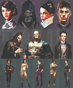 mine concept art delilah dishonored corvo attano the outsider Dunwall emily kaldwin Daud Billy Lurk dishonorededit Jessamine Kaldwin granny rags game concept art my game edit dishonored concept art vera moray gaming concept art