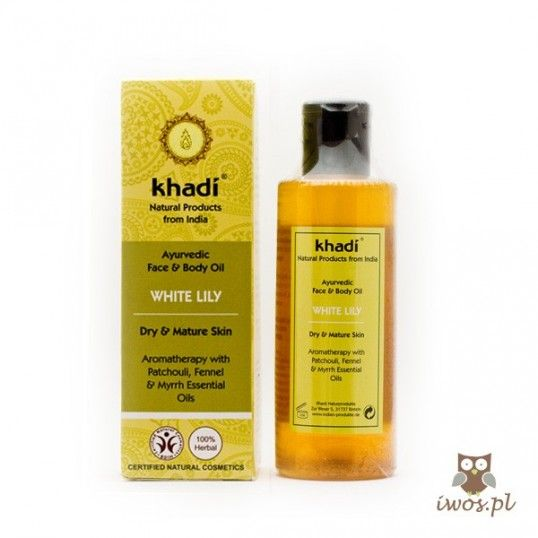 Ayuvedic Face & Body Oil WHITE LILY