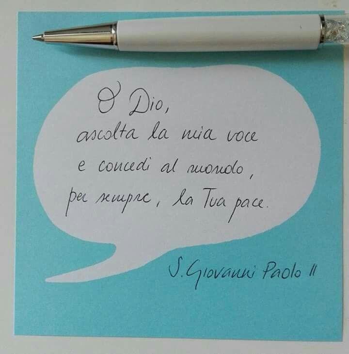 San Giovanni Paolo II parole sante Mogli Mamme per Vocazione pace