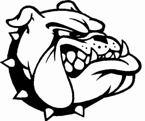Bull Dog Coloring Page Best Of Ga Bulldog Colouring Pages Dog Coloring Page Football Coloring Pages Puppy Coloring Pages
