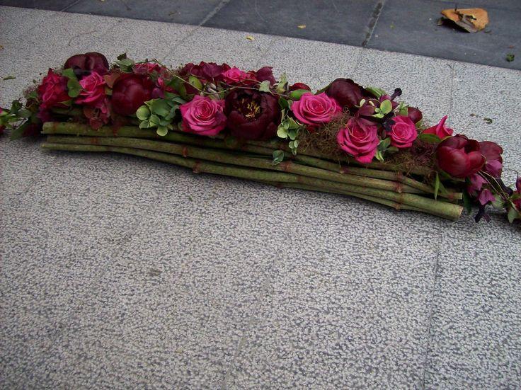bloemstuk met bamboestokken - Google zoeken