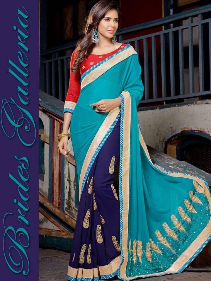 Brides Galleria Awesome Sarees Wear Sonam Bajwa Actress (6)