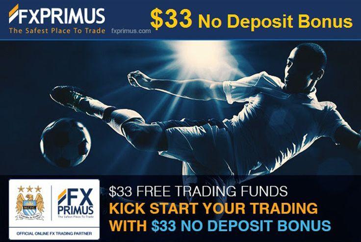 No Deposit Bonus $33 KickStart Bonus FxPrimus