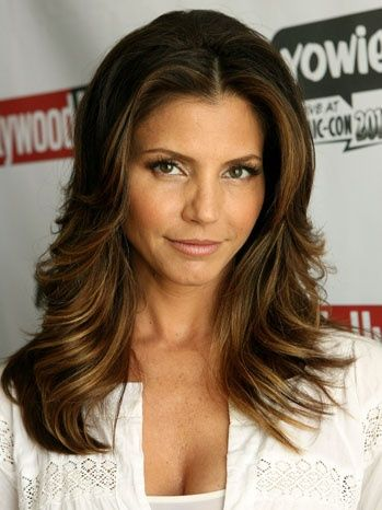 Charisma Carpenter (Cordelia) After Buffy The Vampire Slayer. I love her hair!!!!