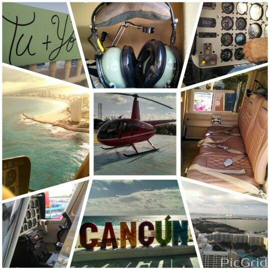Complices del #Amor Entrega #AnillodeCompromiso en Helicoptero #Cancun Mexico #LoveMemories #Weddings