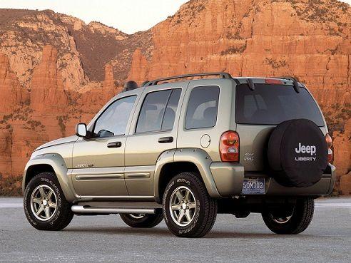 Jeep Liberty Renegade (2002 – 2004).