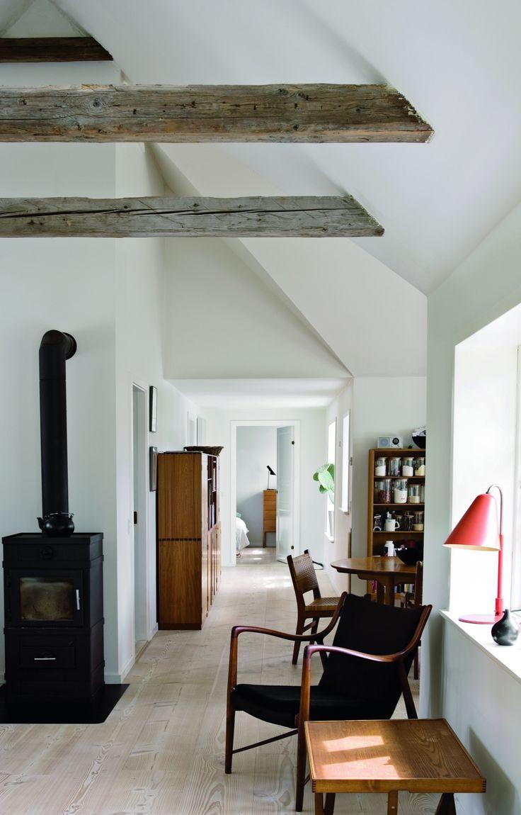 Ruminddelingen er ikke som i det gamle hus. Alle vægge blev revet ned, og små…