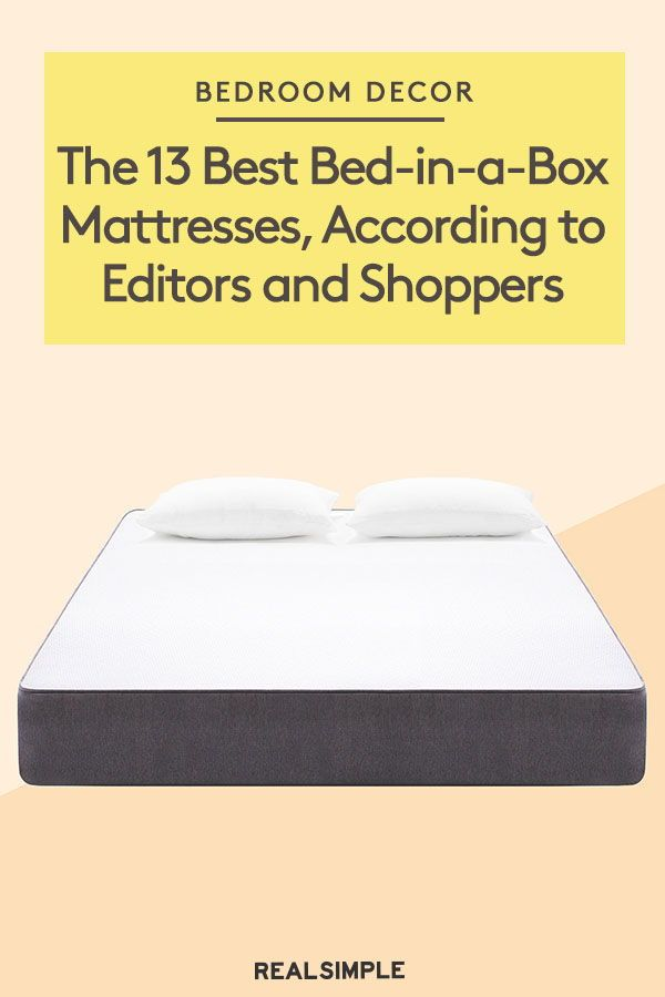The 13 Best Mattresses In A Box For 2019 Mattress Cool Beds
