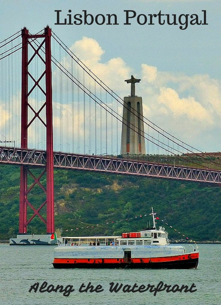 Things to do in Lisbon Portugal along the waterfront. Lisbon has a wonderful walkway along the city that will give you amazing views, allow to you see some of the best sites, and enjoy lunch in a quiet cafe. Click to find out more! @venturists