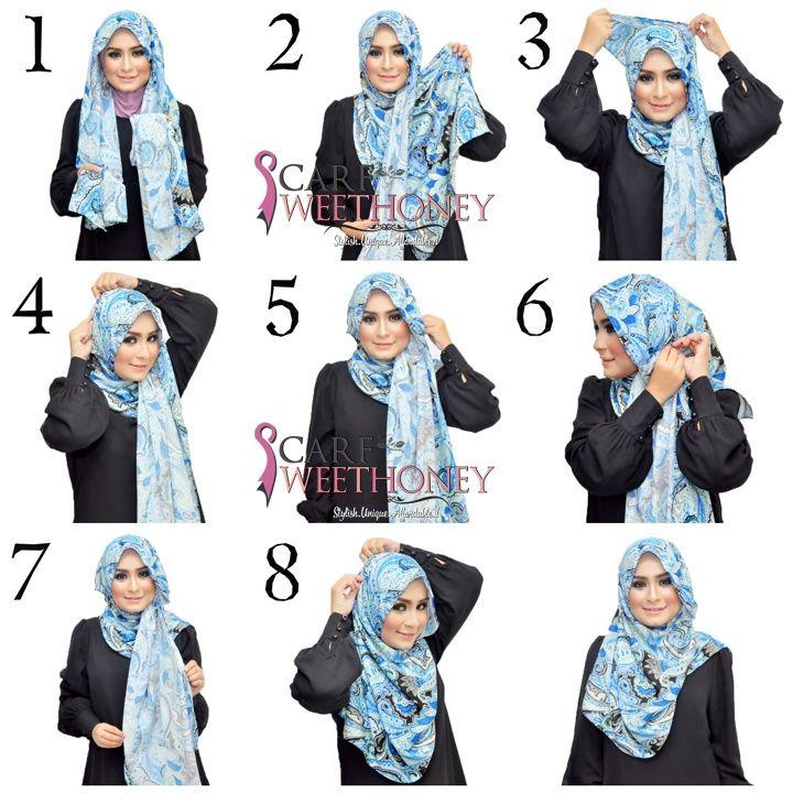 Tutorial Hijab Terbaru Untuk Lebaran
