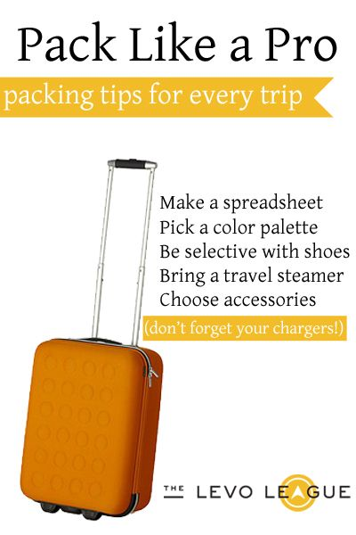 Packing Tips for Business Trips