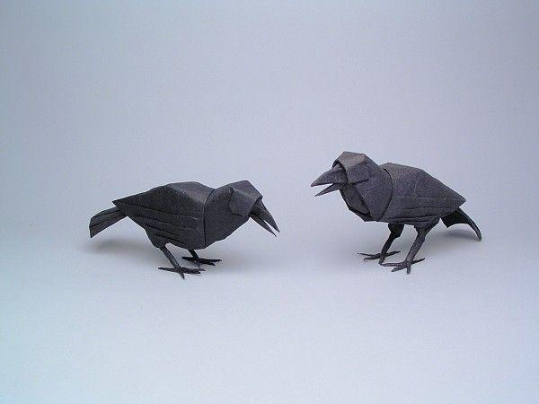 Crows, Opus 422   by Robert J Lang