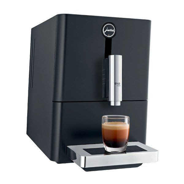Compact, elegant & efficient, the JURA ENA Micro 1 makes espresso or black coffee at the push of a button with a built in grinder