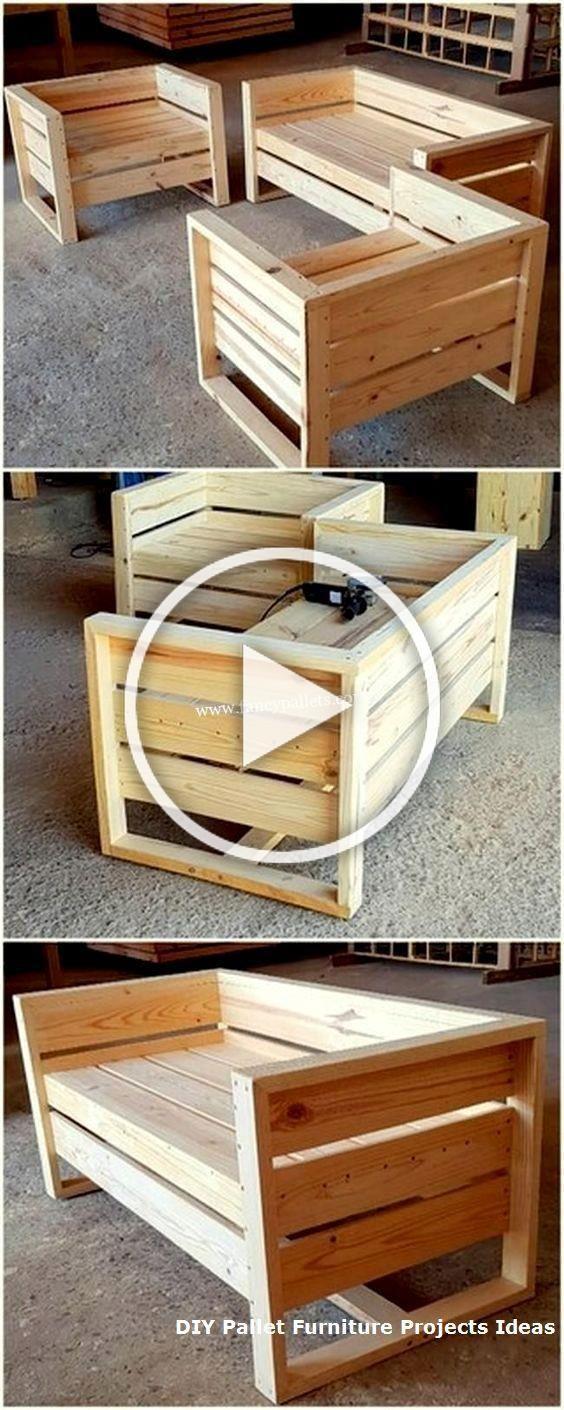 30 Diy Cheap Pallet Wooden Furniture Ideas - #Cheap #DIY # ...